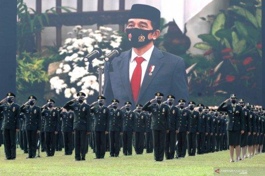 Prasetya Perwira TNI dan Polri secara virtual