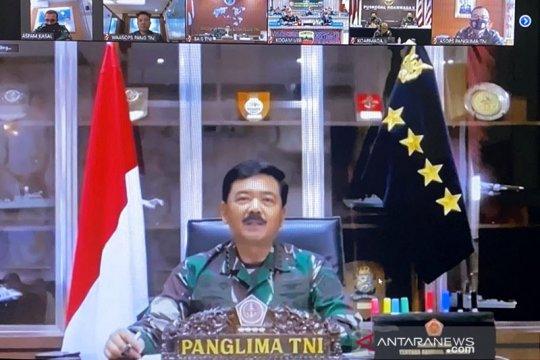 Panglima TNI: Tegakkan disiplin kesehatan cegah penyebaran COVID-19