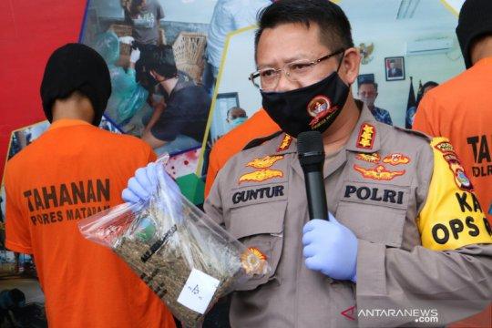 Polresta Mataram sita 6,68 kilogram ganja jaringan lapas