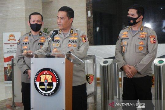Brigjen Prasetijo dimintai keterangan saat masih dirawat di RS