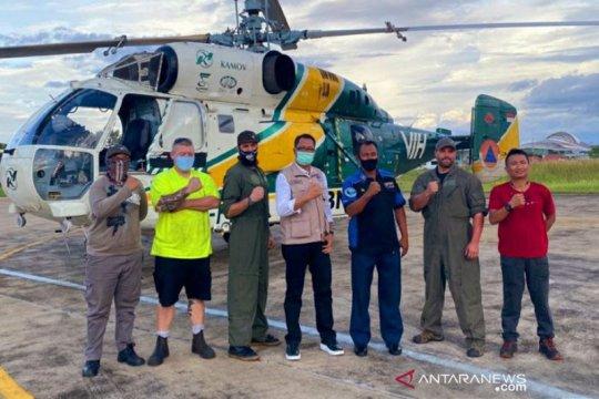 Kalteng terima dukungan helikopter dari BNPB hadapi karhutla