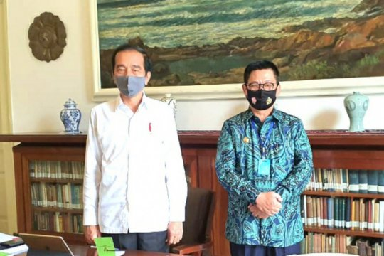 Irianto laporkan tiga program prioritas kepada Presiden