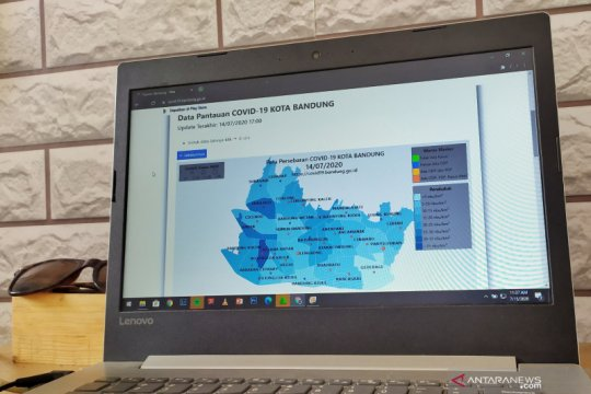 Di Kota Bandung tujuh kecamatan bebas kasus positif aktif COVID-19