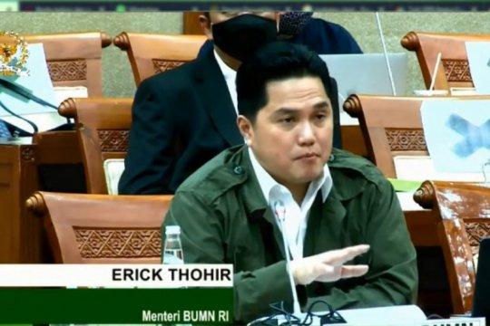 Erick Thohir minta DPR RI memberikan kesempatan kepada Krakatau Steel