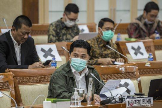 Raker Komisi VI DPR dengan Menteri BUMN