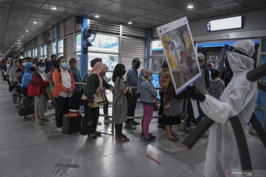 Sabtu, kasus positif COVID-19 Jakarta bertambah 374 orang