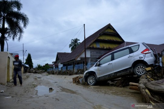 Bantu korban banjir-longsor Luwu Utara, IZI Sulsel dirikan dapur umum