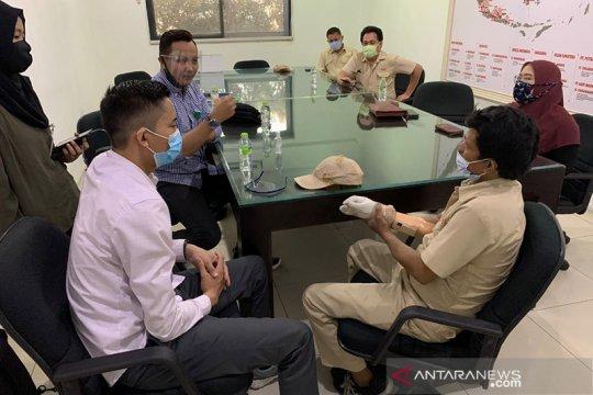 Peserta BPJAMSOSTEK dapat bantuan tangan palsu akibat kecelakaan kerja