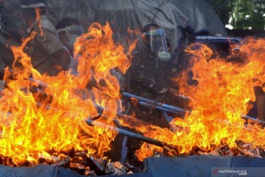 Bea Cukai Denpasar musnahkan barang ilegal senilai Rp1,977 miliar