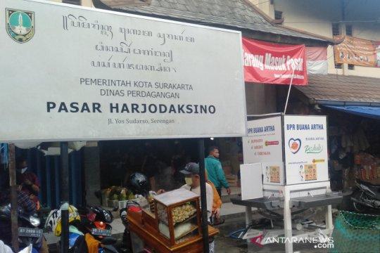 Pemkot Solo segera tes usap pedagang Pasar Harjodaksino