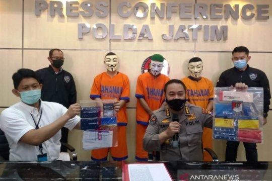 Polda Jawa Timur bongkar manipulasi dokumen elektronik Rp8,6 miliar