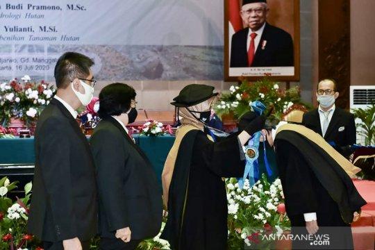 Kementerian LHK tambah tiga profesor riset baru