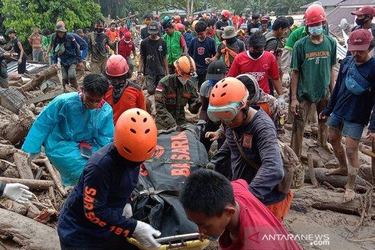 Duka cita disampaikan Wakil Ketua MPR bagi korban banjir di Luwu Utara