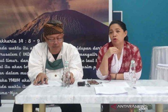 Pembangunan makam tokoh Sunda Wiwitan dihentikan karena tak ada IMB