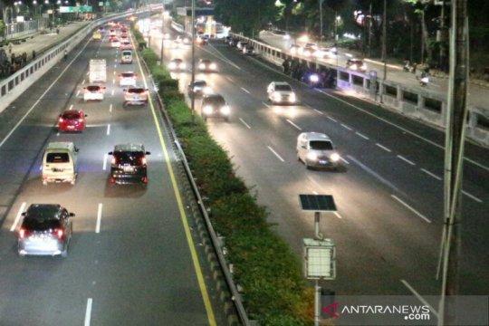 Lalu lintas di kawasan Gedung DPR/MPR/DPD RI kembali normal