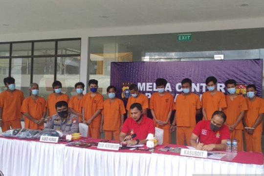 Polda Riau bongkar sindikat perampokan truk minyak sawit
