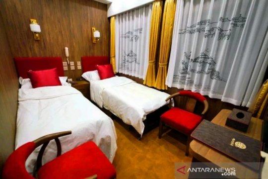 China sulap kereta api jadi hotel berjalan kelas bintang lima