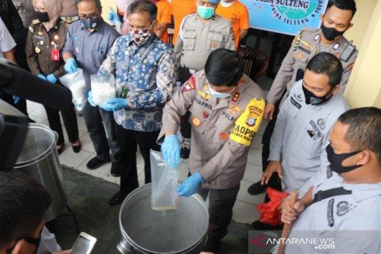 Kapolda: Sulteng sasaran masuk dan transit narkoba paling strategis