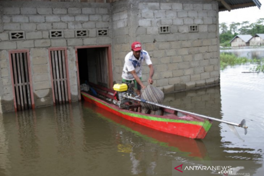 BPBD: Jumlah pengungsi banjir Konawe bertambah menjadi 941 KK