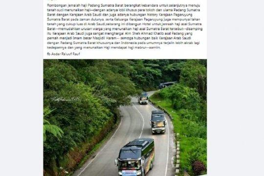 Kemarin, vaksin COVID-19 Indonesia hingga jamaah Padang berangkat haji