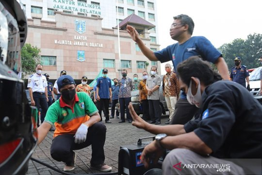 Uji emisi di Jakarta Selatan diikuti 421 kendaraan