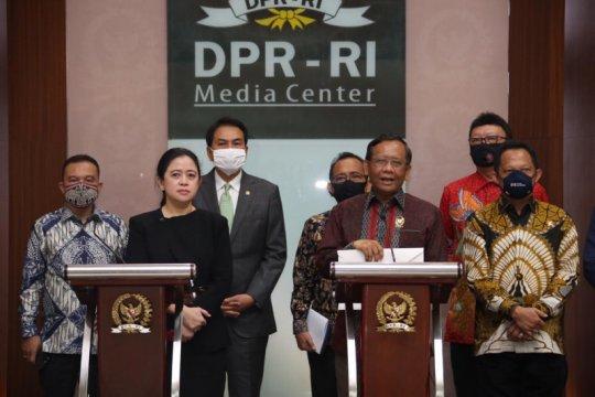 Menkopolhukam: Pancasila tetap lima sila dalam RUU BPIP