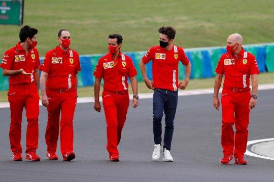 Pebalap Ferrari Charles Leclerc terkonfirmasi positif COVID-19