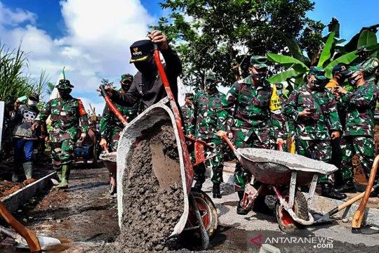 Tim Wasev Mabes TNI AD evaluasi program TMMD di Lumajang