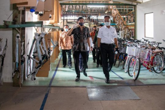 Kemenperin perkuat rantai pasok sektor industri sepeda