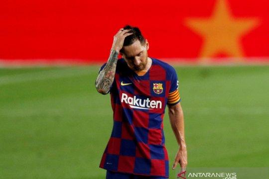 Gagal di La Liga, Messi kini pesimistis Barca juara Liga Champions