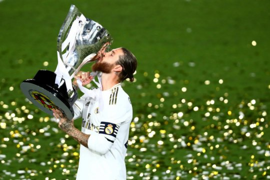 Sergio Ramos akan terus bersama Madrid sampai gantung sepatu