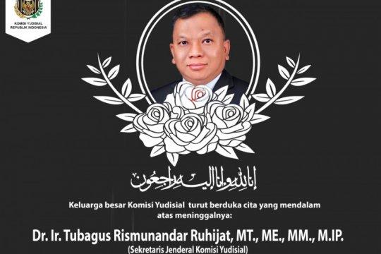 Sekjen KY akan dimakamkan di Sukawana, Banten