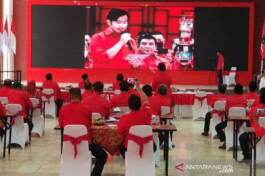 Gibran ucapkan terima kasih kepada Ketua DPC PDIP Surakarta