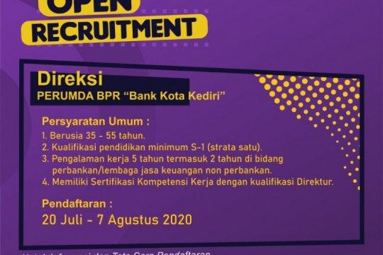 Pemkot Kediri akan buka seleksi calon direksi Perumda BPR