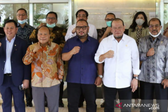 DPD sebut tiga senator rekomendasi La Nyalla jika reshuffle