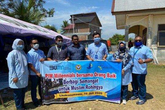 Pupuk Iskandar Muda salurkan bantuan untuk pengungsi asal Rohingya