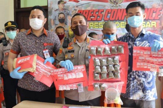 Seorang oknum TNI jadi bandar narkoba ditangkap polisi di Bali