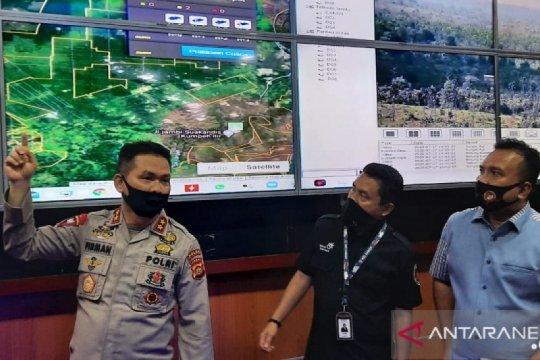 """Polda Jambi pasang 30 CCTV """"asap digital"""" antisipasi karhutla"""