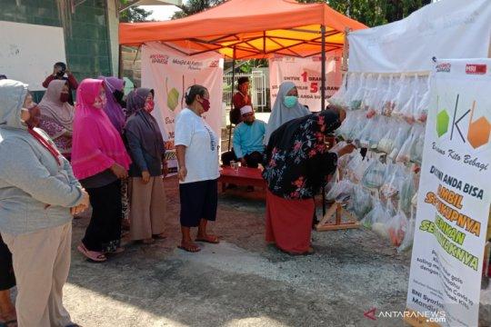 ACT Sumsel bantu warga terdampak pandemi dengan BKB
