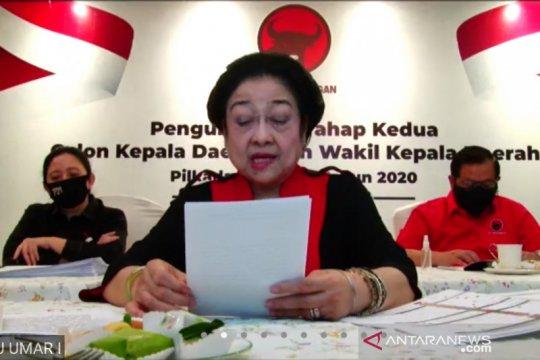 Megawati perintahkan calon kepala daerah dukung Jokowi hadapi COVID-19