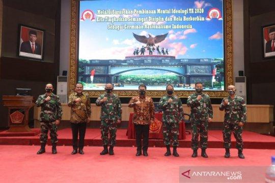 MPR ajak TNI bersatu bersama umat Islam dan nasionalis jaga Pancasila