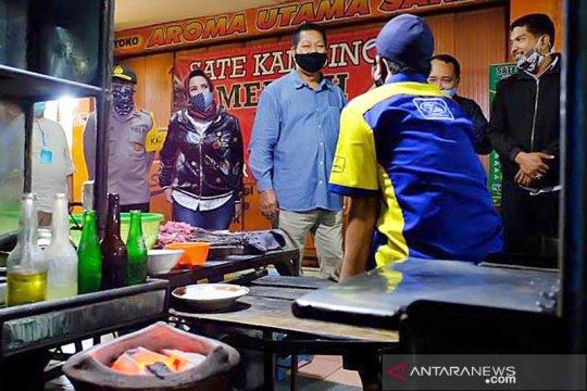 Wali Kota Magelang cek penerapan protokol kesehatan di pusat kuliner