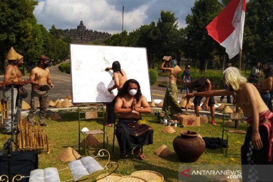 "Performa ""Lelakuning Urip"" hidupkan kegiatan seni-budaya Borobudur"