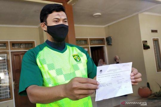 Kediaman kiper Persib Bandung didatangi Ketua KPU RI terkait pilkada