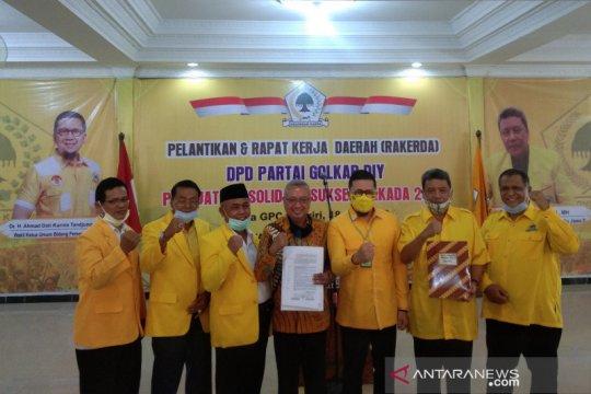 Golkar resmi dukung calon petahana dari Gerindra di Pilkada Bantul