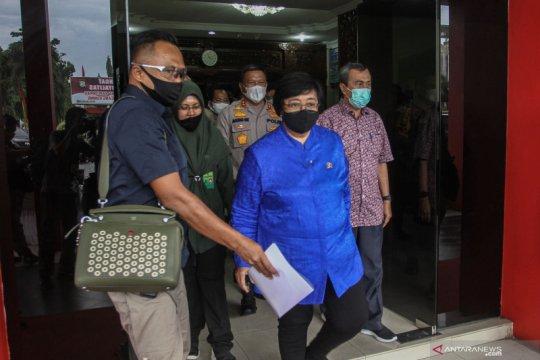 Kunker Menteri LHK ke Pekanbaru