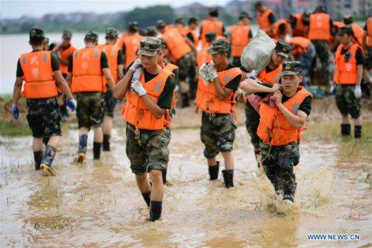 Banjir di Sichuan kembali telan korban jiwa