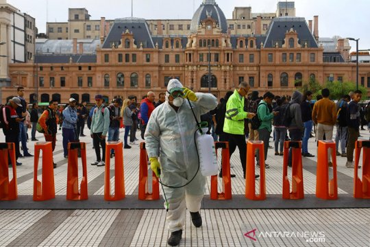 Argentina fokuskan penguncian COVID-19 di Ibu Kota Buenos Aires