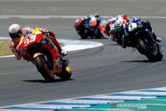 Marquez, Crutchlow selesai operasi pasca kecelakaan di GP Spanyol