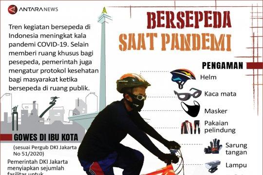 Bersepeda saat pandemi